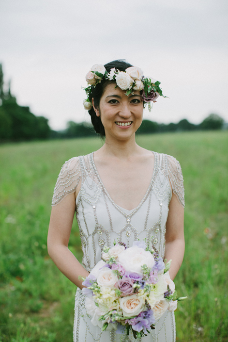 Real Bride - Yumie in \'Eden\' by Jenny Packham - Miss Bush Blog