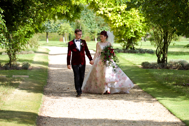 amy-wearing-sassi-holford-marilyn-floral-wedding-dress-from-miss-bush-bridal-boutique-surrey-uk-2