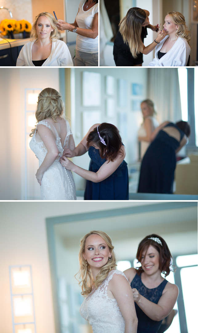 Real bride Steph wearing Maggie Sottero Noelle - Miss Bush Blog