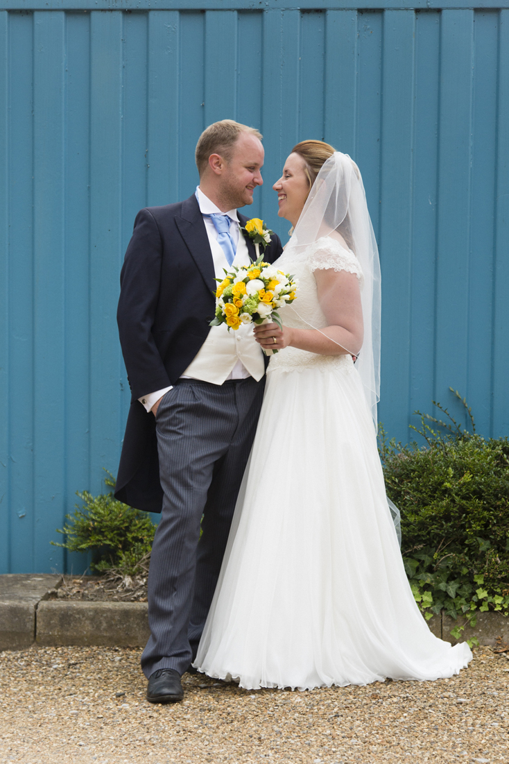 Real Bride Charlotte wearing Sassi Holford Chantelle - Miss Bush Blog