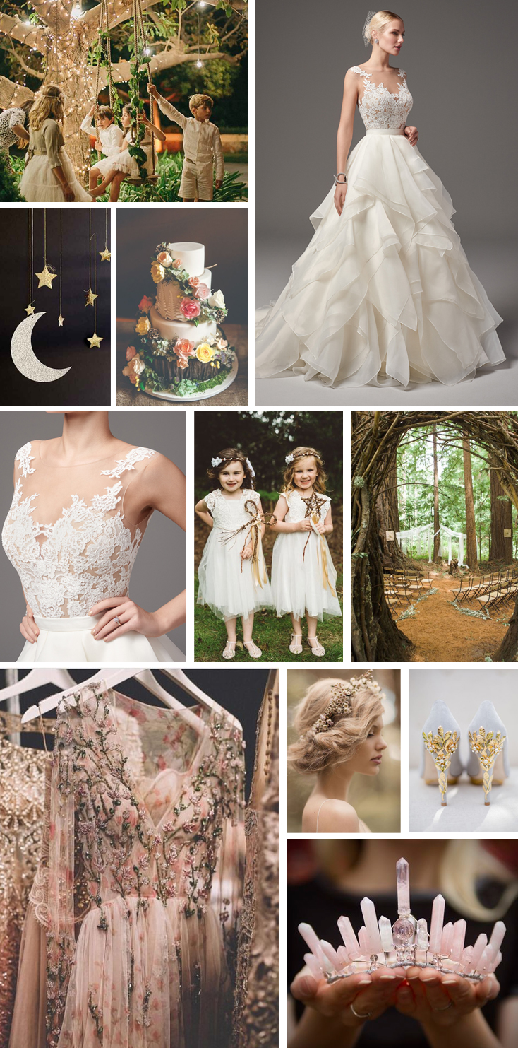Monday Moodboard - a midsummer nights dream wedding inspiration ...
